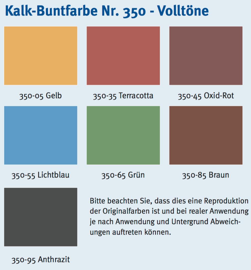 auro kalk-buntfarbe nr. 350 - farbton naturfarben