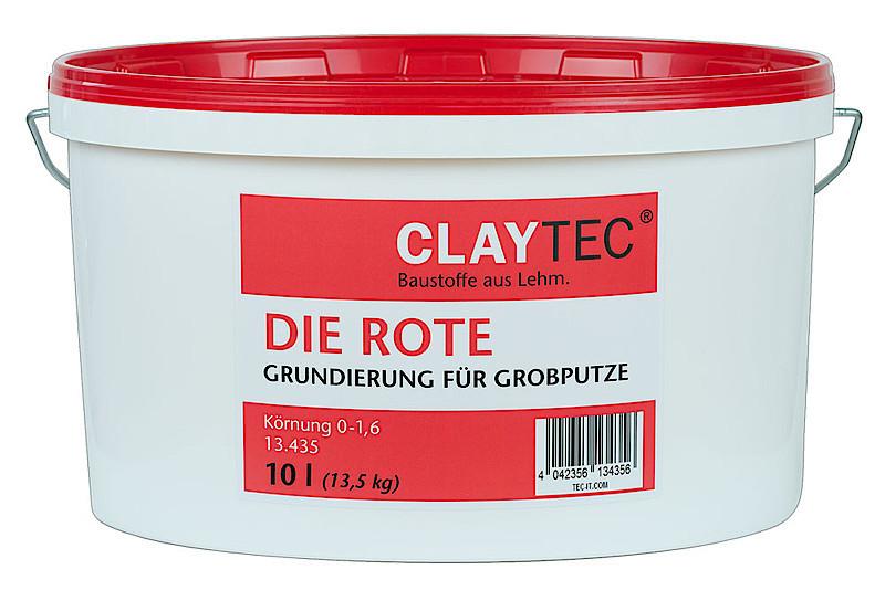 claytec grundierung die rote grobkorn farbton naturfarben. Black Bedroom Furniture Sets. Home Design Ideas