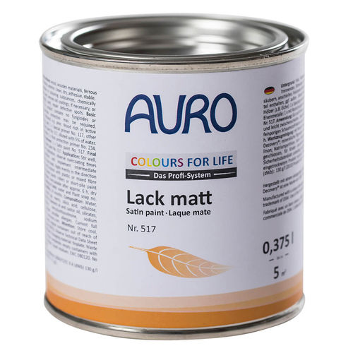 Auro COLOURS FOR LIFE Lack, matt Nr. 517